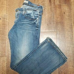 Women's Big Star Maddie mid-rise jeans sz.32R